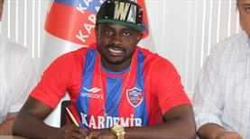 Karabük'e Nijeryalı golcü
