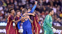 Salih'li Roma Ronaldo'yu üzdü