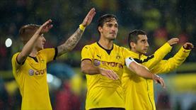 Dortmund gol oldu yağdı