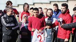 Gaziantepspor'dan anlamlı davranış