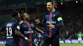 Saint Etienne: 0 - Paris Saint Germain: 2 (ÖZET)