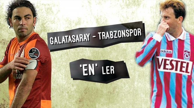 İşte Galatasaray - Trabzonspor maçının 'en'leri...