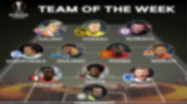 UEFA'da haftanın 11'i belli oldu! Bizden bir isim var!