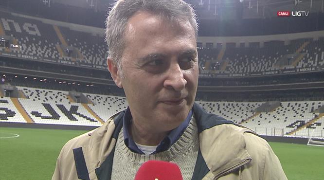 Fikret Orman: ''Caner'e çok üzüldüm... Aboubakar sıradan bir transfer değil'' (LİG TV ÖZEL)