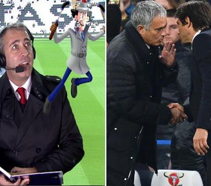 Mourinho'dan Conte'ye 'Vay Bee'lik hareket!