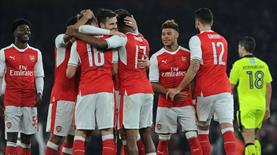 Arsenal ve Liverpool çeyrek finalde