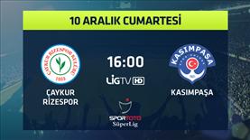 Çaykur Rizespor - Kasımpaşa