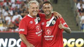 Zico ve Neymar aynı takımda!