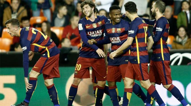 Barça rekorla finalde! (ÖZET)