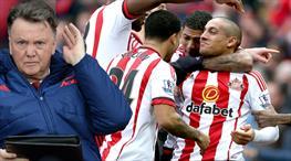 Sunderland: 2 - Manchester United: 1 (ÖZET)