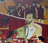 Galatasaray'dan müthiş koreografi! Abdi İpekçi'ye gidemeyenler buraya!