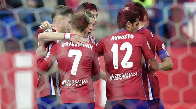 Atletico'da perdeyi golcüler indirdi!.. (ÖZET)