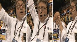 Mikrofonlarda coşku var! Tarihi zaferi bir de böyle izleyin...