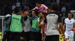 Palermo Serie A'da kaldı!