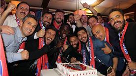 Karabük'te Süper Lig kutlaması
