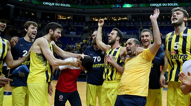Fenerbahçe-Anadolu Efes: 101-79 (ÖZET)