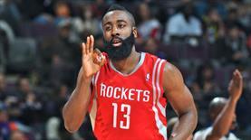 Harden'dan Houston Rockets'a 118 milyon dolarlık imza