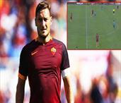 Bir Totti klasiği!.. Efsane'den muhteşem asist!..