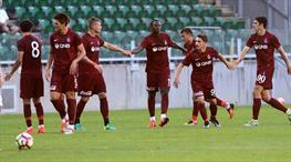 Trabzonspor'dan 5 gollü kutlama!