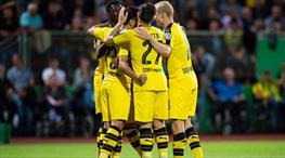 Emre Mor'lu Dortmund güle oynaya