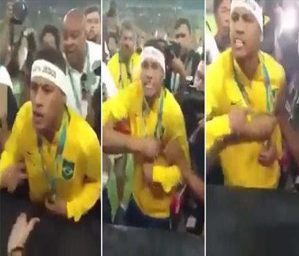 Neymar Rio'da çıldırdı! Olay görüntüler...