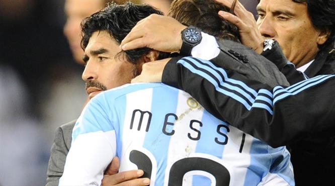 Maradona'dan Messi'yi üzen sözler!