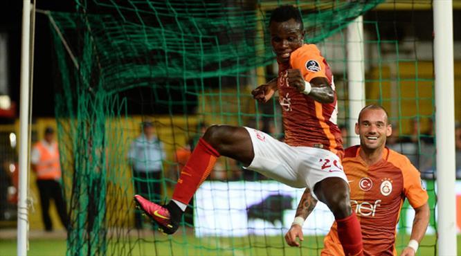 Galatasaraylılar bu golü çok bekledi! Sahnede Bruma var!