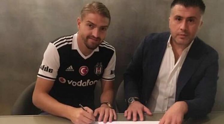 Caner Erkin, Beşiktaş'a imzayı attı