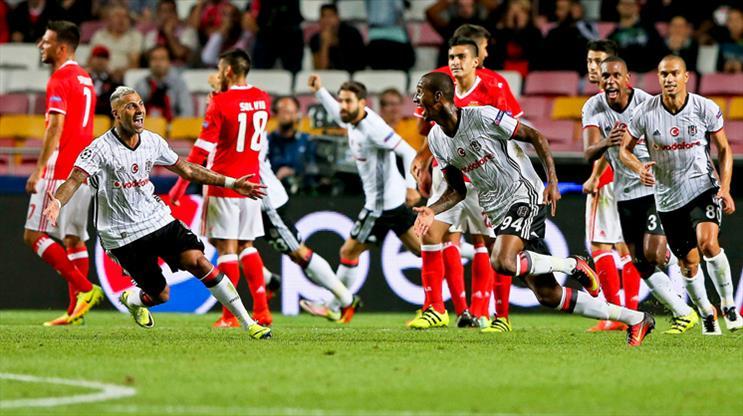 Benfica-Beşiktaş: 1-1
