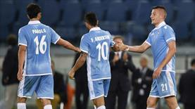 Lazio ikinci yarıda coştu (ÖZET)