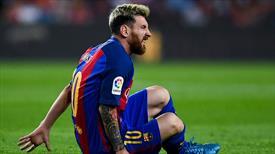 Lionel Messi, 3 hafta sahalardan uzak kalacak!