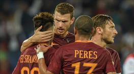 Totti - Dzeko A.Ş iş başında! (ÖZET)