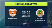 Adanaspor - Aytemiz Alanyaspor (CANLI)