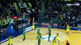 Sloukas-Vesely şov! Panathinaikos'a Alley-oop dersi!