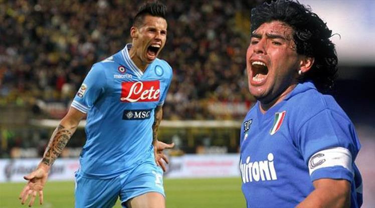 Hamsik'in gözü Maradona'nın rekorunda