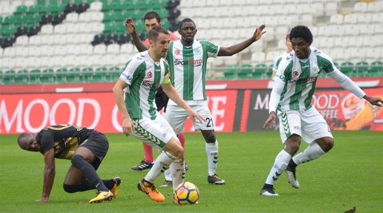 Atiker Konyaspor-Osmanlıspor: 1-0