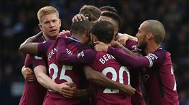 Manchester City rakip tanımıyor (ÖZET)