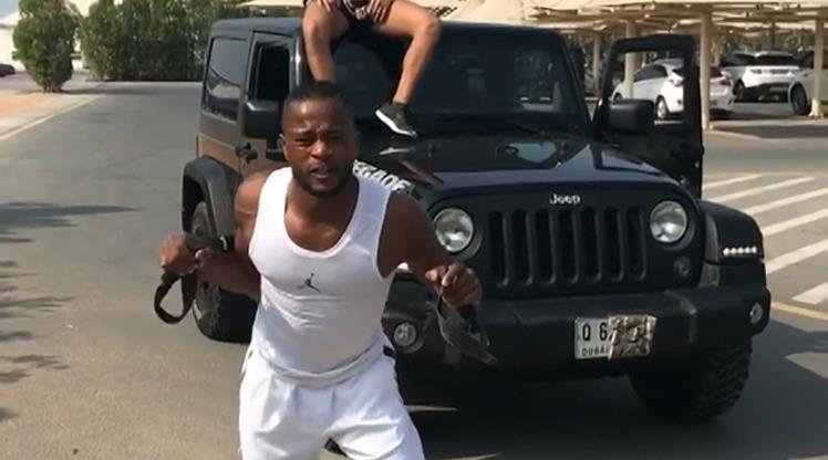 Patrice Evra'dan olay video
