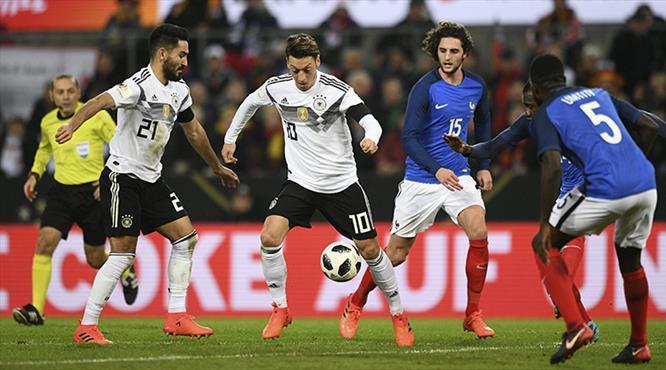 Çakır'ın maçında Fransa kaçtı, Almanya yakaladı (ÖZET)