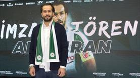 Ali Turan 2 yıl daha Konyaspor'da
