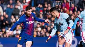 Barcelona'ya Celta Vigo çelmesi (ÖZET)
