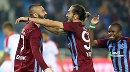 Trabzonspor-Antalyaspor: 3-0 (ÖZET)