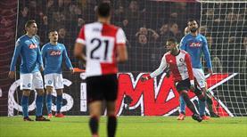 Feyenoord galibiyetle veda etti