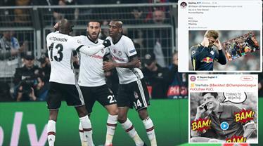 Beşiktaş Bayern'e ilk golü böyle attı!