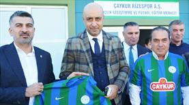 Kafkas'tan Rizespor'a ziyaret