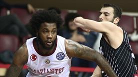 Gaziantep Basketbol uzatmada yıkıldı