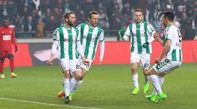 Atiker Konyaspor uzatmada bileti kaptı