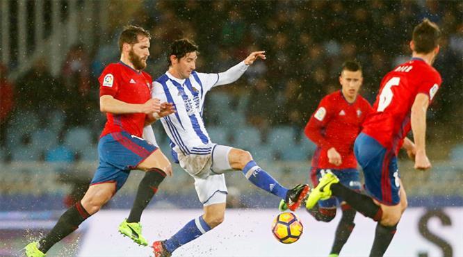 Gol düellosundan Real Sociedad çıktı (ÖZET)