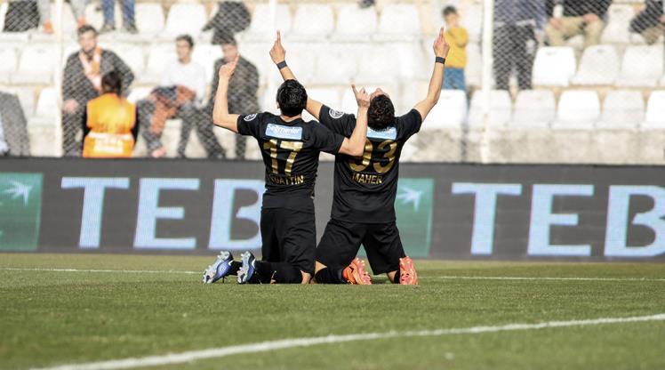 Osmanlıspor'dan kusursuz gol organizasyonu!