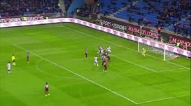 Trabzon kalesi çok sağlam! Onur'dan müthiş kurtarış!